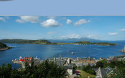 Oban Bay from McCaig's Tower